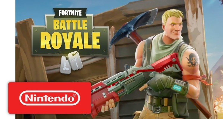 Fortnite disponible desde hoy en Switch