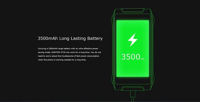 HomTom HT20 bateria