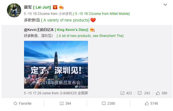 El gran evento de Xiaomi está próximo a suceder.