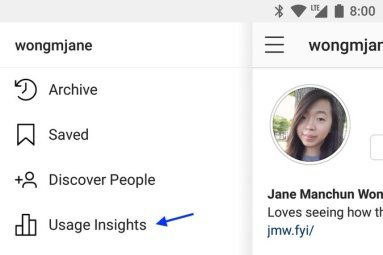 Instagram-Usage-Insights-Menu