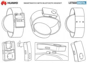 Patente-smartwatch-Huawei-manos-libres