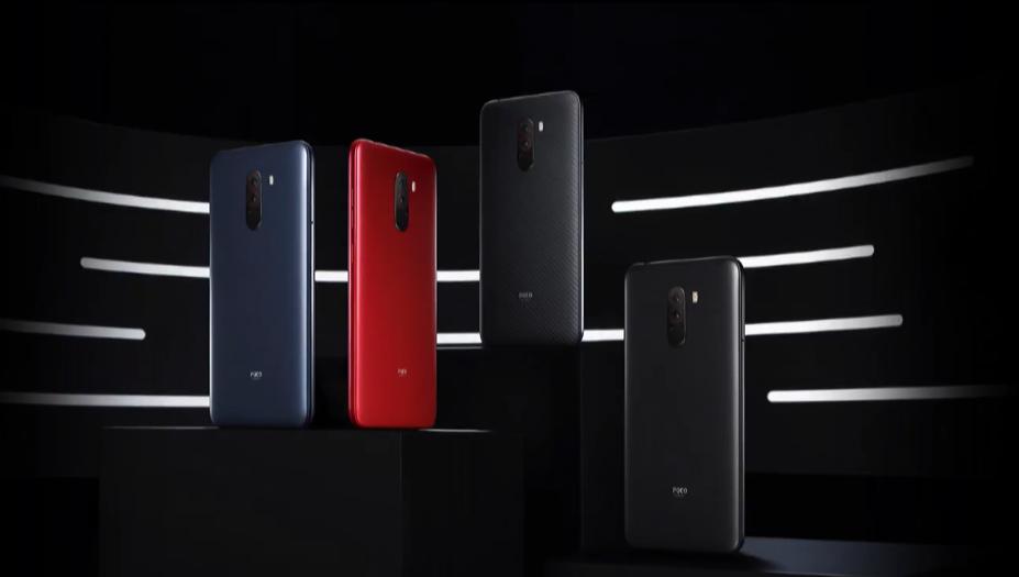 XIaomi-Poco-F1-Color-Variants