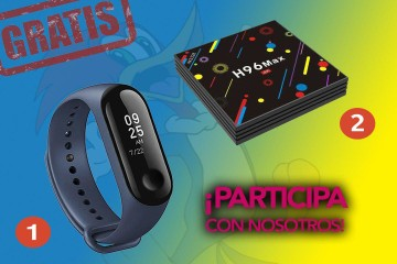 sorteo mi band 3 y h96 tv 5