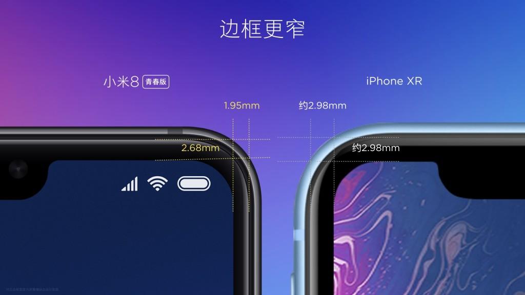 Xiaomi-Mi-8-Lite-Top-bezel