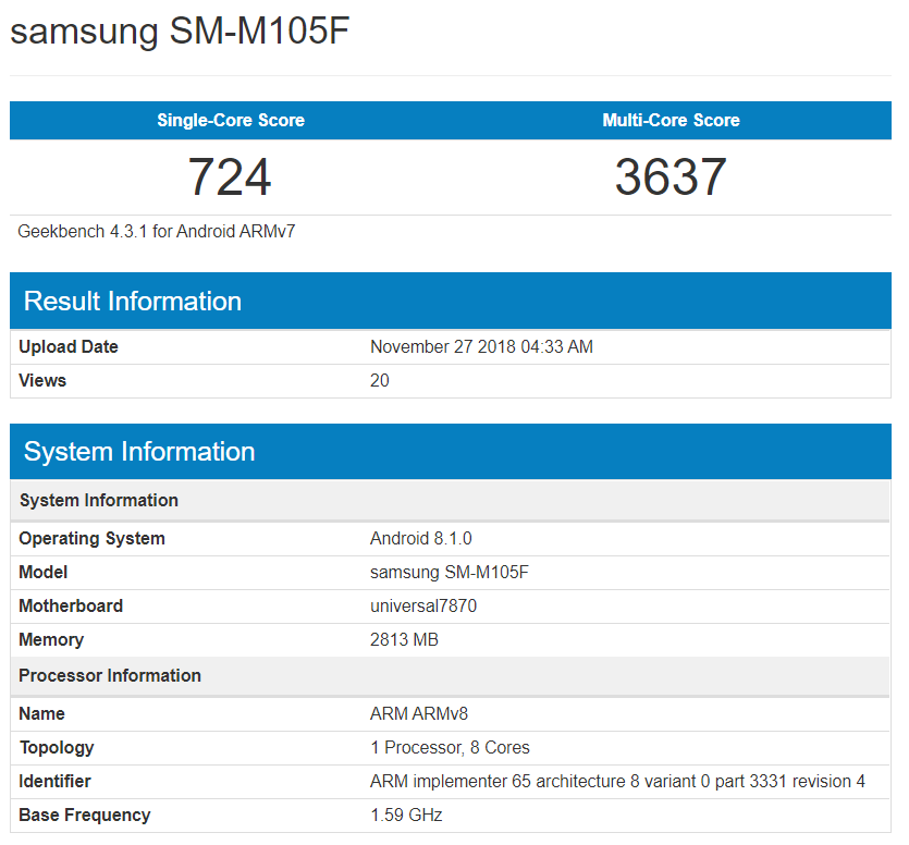 Galaxy-M10-geekbench