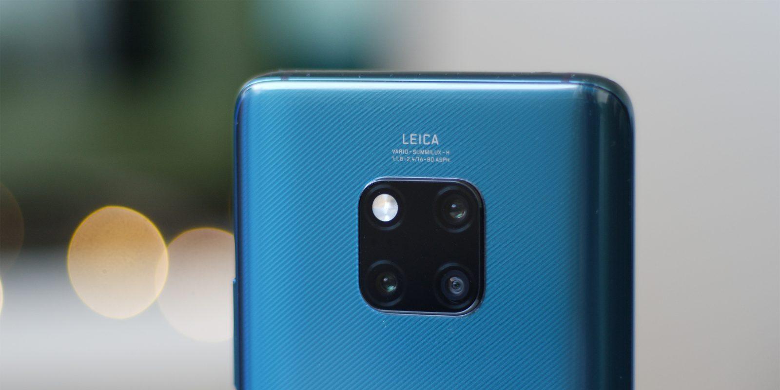 La disposición de las cámaras podría ser como la del Mate 20 Pro