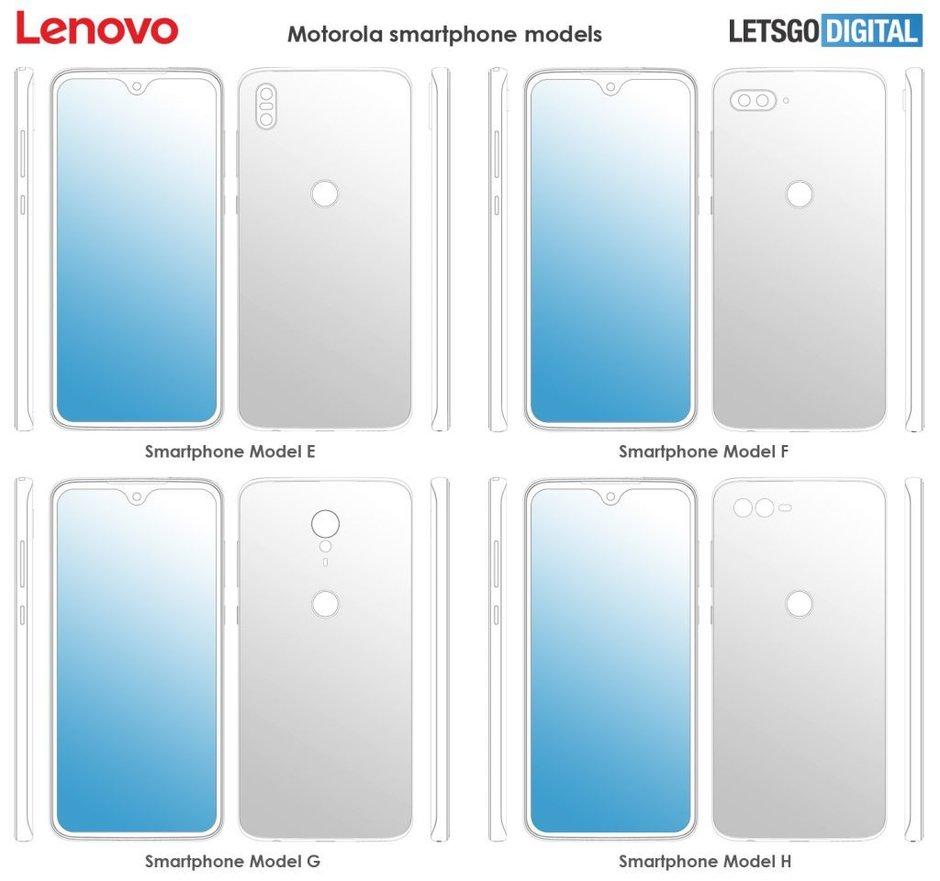 Nuevos diseños de Motorola (cámaras traseras)