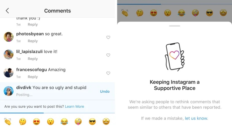 Instagram contra el cyber bullying