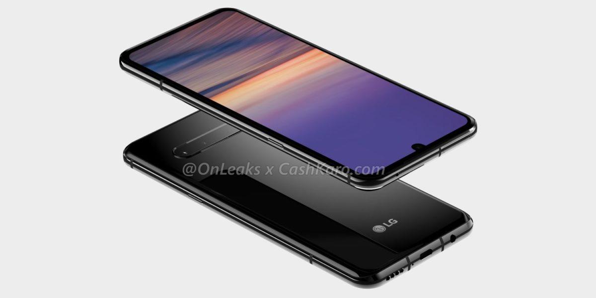 LG G9 render