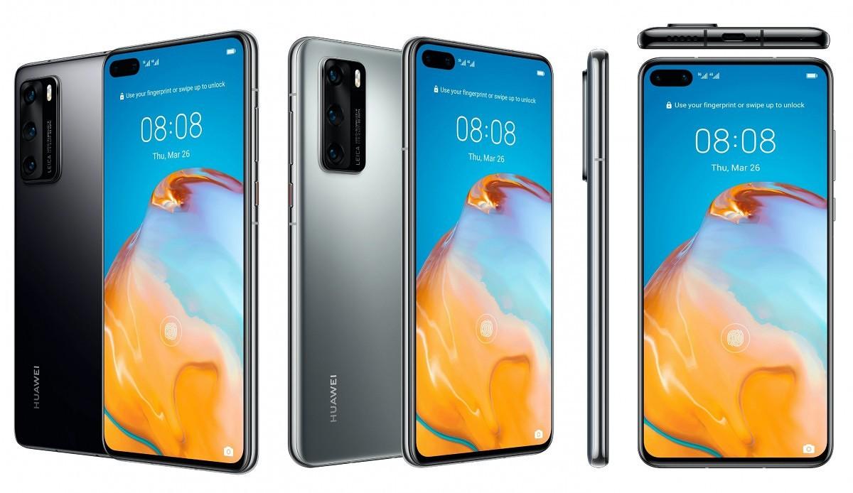 Huawei P40 filtrado