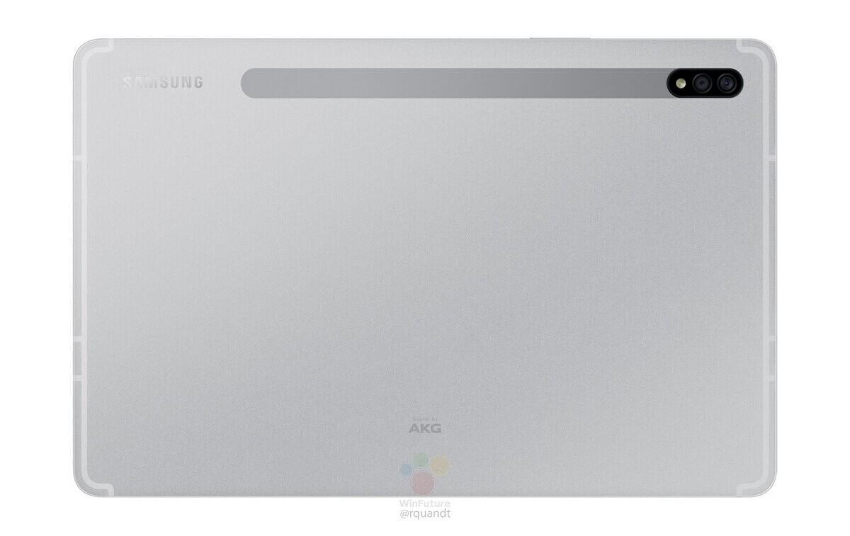 Samsung Galaxy Tab S7 en Mystic Silver